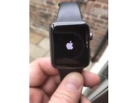 Apple Watch 42MM Black sports Excellent Condition