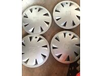 "14""Vauxhall genuine wheel trims hud caps 4"