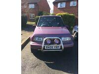 1997 Suzuki Vitara JLX fatboy. 1.6L 16V Rare Purple LOW MILEAGE.