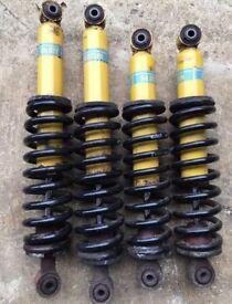 VX220 Turbo suspension