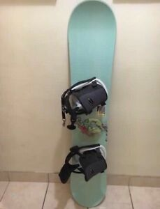 K2 Snowboard With Bindings SELLING ASAP