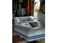 Waveco inflatable dinghy with 5hp outboard