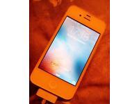 Iphone 4s 16gb o2/giffgaff
