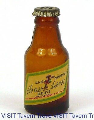 Old Original Miller High LIfe Mini Beer Bottle Miller Brewing Co Milwaukee WI