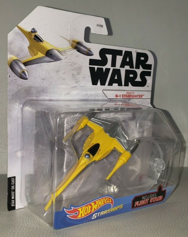 NEW Hot Wheels 2020 Star Wars STAR SHIPS Naboo N-1 Star fighter FAST SHIPPING!!!