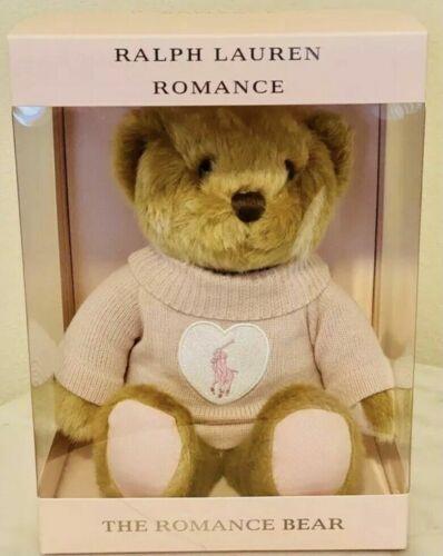 NIB 2021 Ralph Lauren The Romance Bear ~ Pink Polo Teddy Bear
