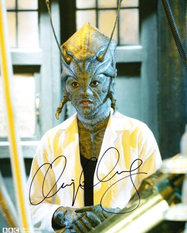 CHIPO CHUNG as Chantho - Doctor Who GENUINE AUTOGRAPH UACC (R4081)