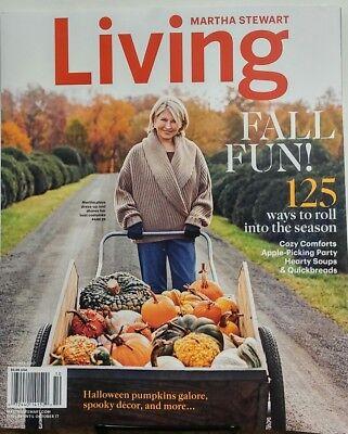 Martha Stewart Living Oct 2017 Fall Fun Halloween Pumpkins Decor FREE SHIPPING s](Martha Stewart Halloween Decor)