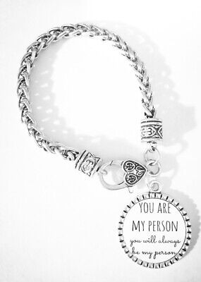 Best Friend Charm Bracelet You're My Person You Are My Person Gift