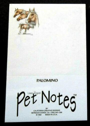 Palomino Horse Notepads