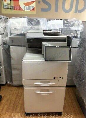 Copier Ricoh Mp C307 - Super Low Meter - Color Printer Copier Scan Fax Mfp