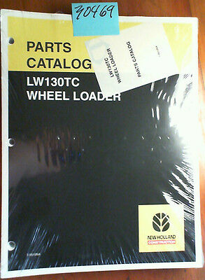 New Holland Eh130tc Wheel Loader Parts Catalog Manual 7-9510na 204