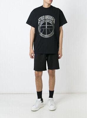 Astrid Andersen Oversize Black Thom/Y T-shirt Sz M
