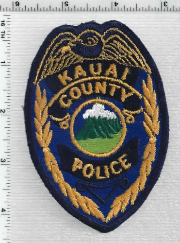 Kauai County Police (Hawaii) 1st Issue Shoulder Patch