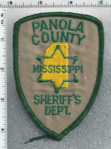 Panola County Sheriff (Mississippi) 3rd Issue houlder Patch