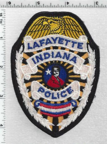 Lafayette Police (Indiana) 3rd Issue Shoulder Patch