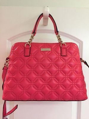 NWT Kate Spade Small Rachel Satchel-Crossbody Bag Purse Astor Court Desertrose
