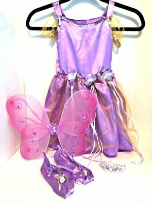 Purple Fairy Dress Up Halloween Costume Butterfly - Purple Butterfly Halloween Kostüm