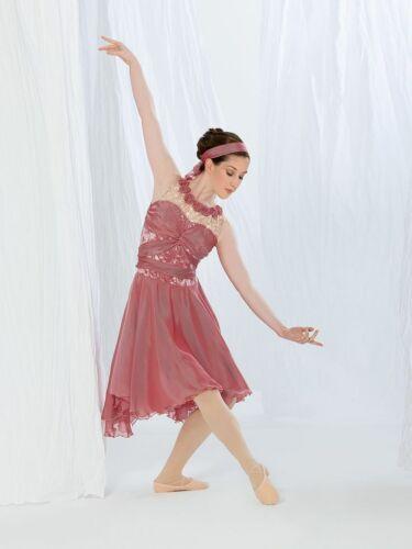 "Revolution Dancewear ""Primrose"" ballet lyrical dance costume dress pink Child L"