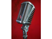Singer required for Rockabilly, Rock 'n' Roll band