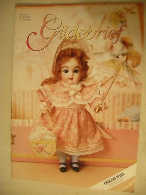 "Gildebrief 3/2000 antique 5.5"" mignonette doll wardrobe dress pattern CD format"