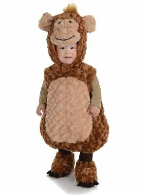 UNDERWRAPS BELLY BABIES MONKEY KID'S HALLOWEEN COSTUME ASST SIZES NEW   - Kids Monkey Costume