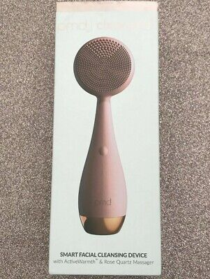 Clean Pro PMD Smart Facial Cleansing Device Rose Gold Quartz Pink