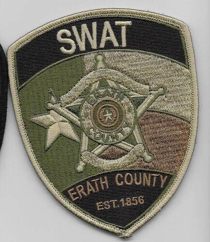 Erath County Sheriff State Texas TX SWAT SRT NEW