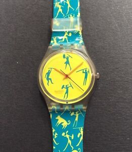 Swatch 1990 African Can - GK120 - Italia - Swatch 1990 African Can - GK120 - Italia