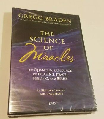 - Gregg Braden: The Science of Miracles (DVD, 2009) Brand NEW! RARE AND OOP!•