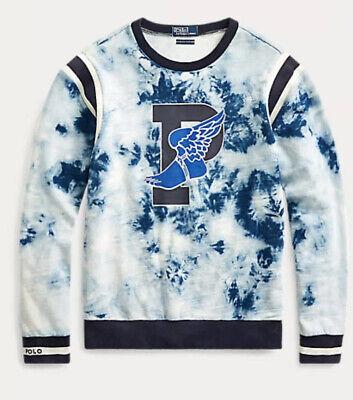 Polo Ralph Lauren P-Wing Crew Neck Sweatshirt Size XL~NWT INDIGO