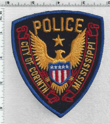 City of Corinth Police (Mississippi) 2nd Issue Shoulder Patch