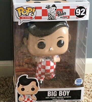 Funko Pop Bob's Big Boy Ad Icons 10 inch Funko Shop Exclusive #92 10-Inch