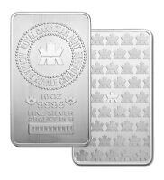 Brand new 10 oz. silver bars from the mint