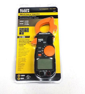 Klein Tools Cl1300 600 Ac Clamp Wtemperature