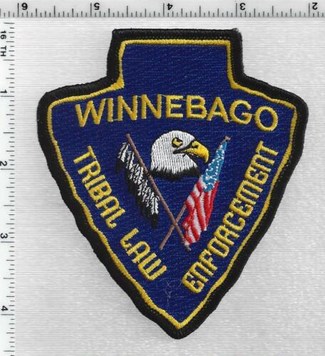Winnebago Tribal Law Enforcement (Nebraska) 1st Issue Shoulder Patch
