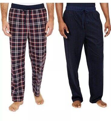 🎄🎄NWT 2-Pack Men's Nautica Sleepwear Plaid Pajama Pants Size XL 40-42