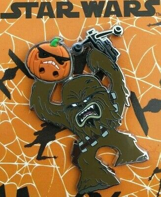 Disney Pin, Chewbacca Halloween 2015, pin #110350, Star Wars 2015