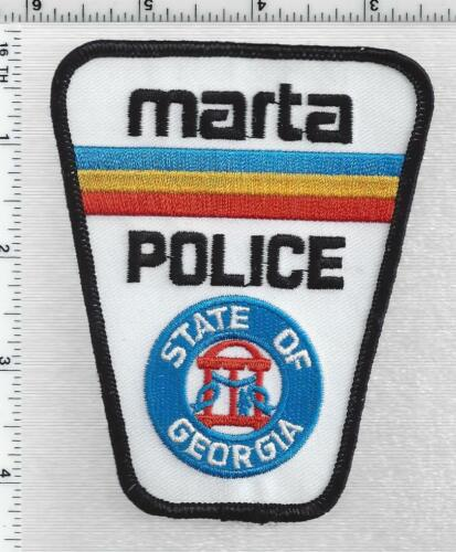 Metropolitan Atlanta Rapid Transit Authority Police (Georgia) 3rd Issue Patch