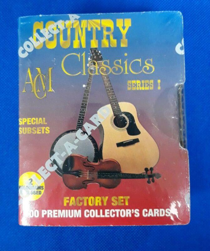 Country Classics Series 1 Collectors Cards 1992 NIB
