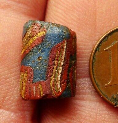 14mm Pearl Roman Glass Antique Djenné Mali Islamic Eye Bead Stringing