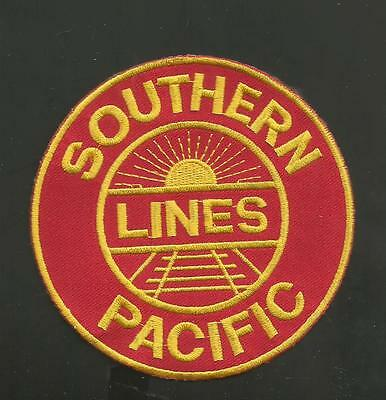 """SOUTHERN PACIFIC LINES   RAILROAD PATCH 4  """""""
