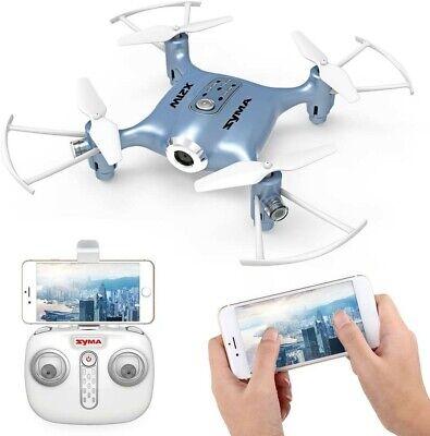 Syma X21W Mini FPV Drone with WIFI Camera Live Video 2.4GHz 4CH 6-Axis Gyro APP