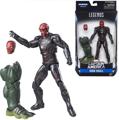Marvel Legends 6 inch action figures! Iron Skull! Abomination Series! New in box
