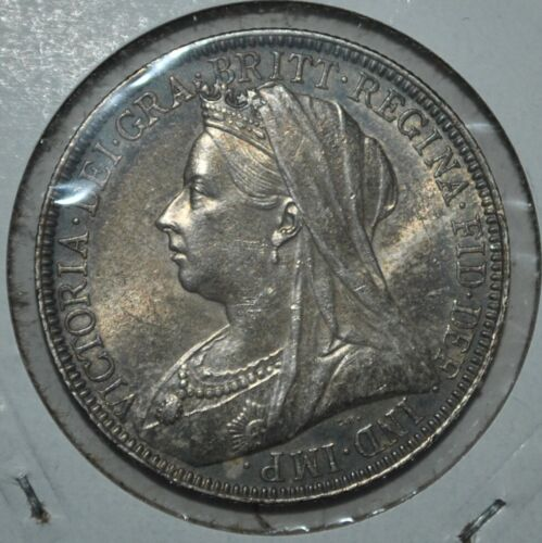 Great Britain Florin 1895 AU (6181)