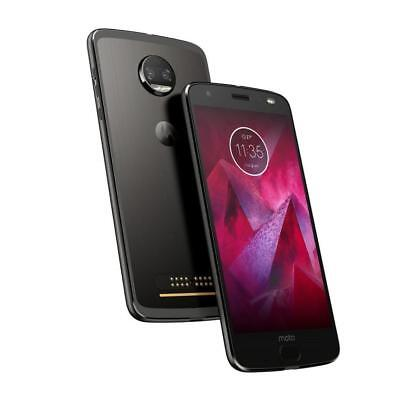 New Motorola Moto Z2 Wring XT1789 4G LTE AT&T 64GB Super Black Phone - Unlocked