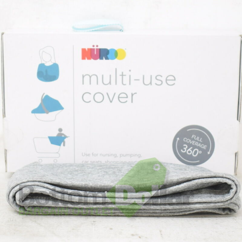 Nüroo 08103 Full Coverage Multi-Use Cover Heather Grey