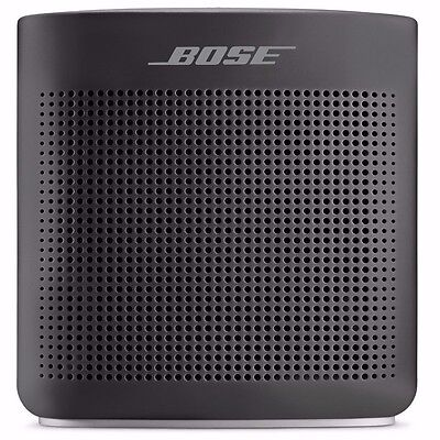 NEW BOSE SOUNDLINK COLOR II BLUETOOTH SPEAKER - BLACK WIRELESS PORTABLE 2