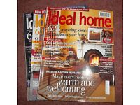 Ideal Home Magazines (job lot of 51 issues)