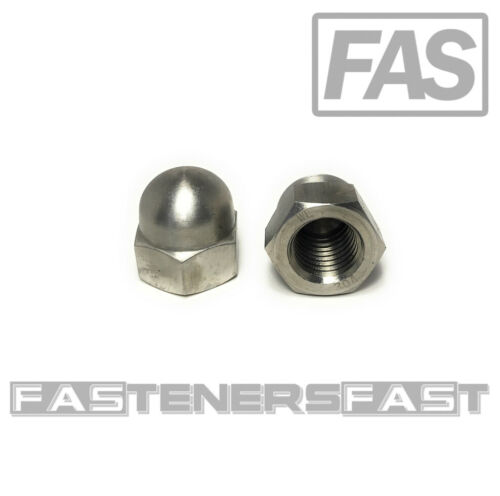 (1) 7/8-9 Stainless Steel Hex Acorn Cap Nuts 18-8 (1 Piece)